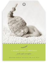 A Merry Little Christmas Holiday Photo Cards