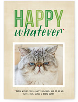 Happy Whatever Holiday Photo Cards