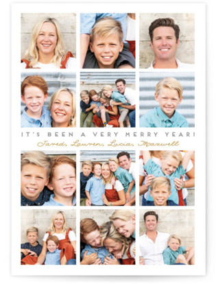 A Very Merry Year Holiday Photo Cards