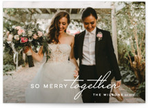 So Merry Together Holiday Photo Cards