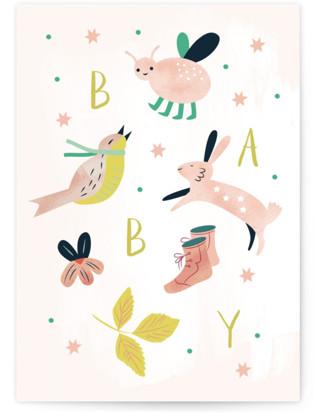 Baby Individual Baby Greeting Cards