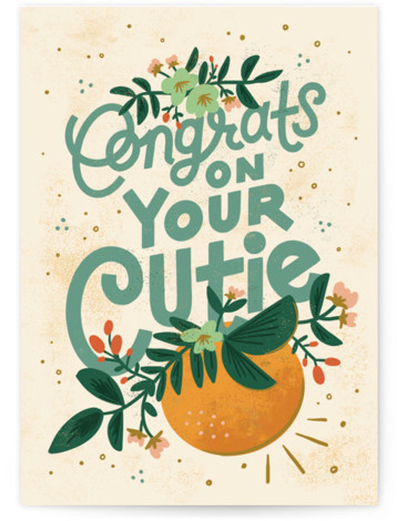 Congrats on Your Cutie Individual Baby Greeting Cards