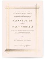Grand Affair Foil-Pressed Wedding Invitations