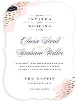 Luscious Icing Foil-Pressed Wedding Invitations
