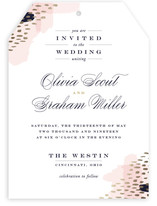 Luscious Icing Foil-Pressed Wedding Invitations