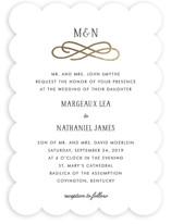 Timeless Foil-Pressed Wedding Invitations
