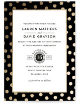 Devoted Foil-Pressed Wedding Invitations