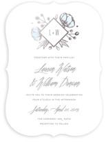 Romanced Foil-Pressed Wedding Invitations
