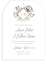 Romanced Foil-Pressed Wedding Invitations
