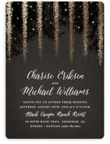 Strands Of Lights Foil-Pressed Wedding Invitations