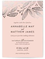 Belle Foil-Pressed Wedding Invitations