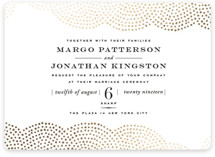 Majestic Foil-Pressed Wedding Invitations