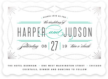 Savoy Foil-Pressed Wedding Invitations