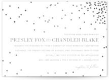 Thrilling Foil-Pressed Wedding Invitations