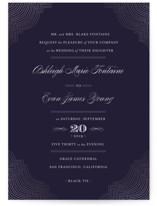 Splendorous Foil-Pressed Wedding Invitations