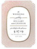 Plaza Foil-Pressed Wedding Invitations
