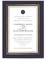 Prelude Foil-Pressed Wedding Invitations