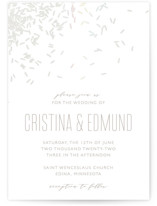 Rice Toss Gloss-Press™ Wedding Invitation