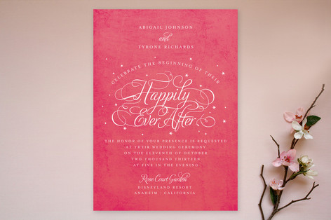 Ever After Wedding Invitations