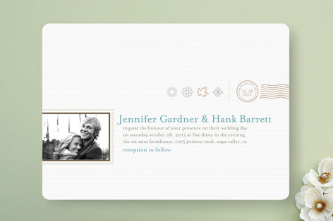 The Seasonal Send-Off Wedding Invitations