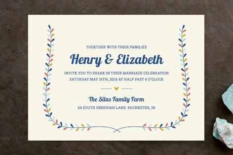 Charming Laurel Wedding Invitations