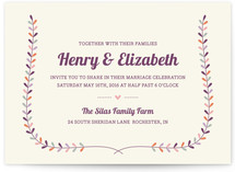 Charming Laurel Wedding Invitations