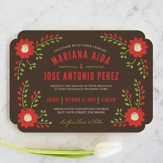 Mexican Ties Wedding Invitations