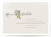 The Grove Wedding Invitations