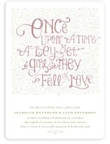 Once Upon Wedding Invitations