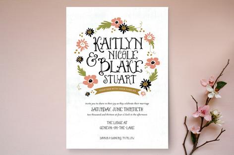 The Fairy Tale Wedding Invitations