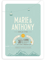 Mountain Wonderland Wedding Invitations