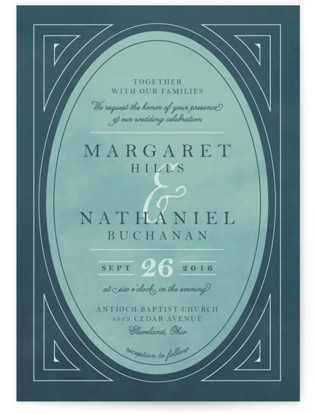 Buchanan Wedding Invitations