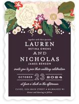 Classic Floral Wedding Invitations