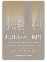 Crystal Curtain Wedding Invitations
