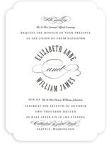 For Eternity Wedding Invitations
