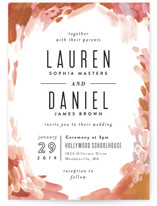 Gallery Abstract Art Wedding Invitations