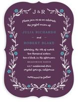 Garland Wedding Invitations