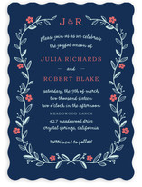 Garland Wedding Invitations