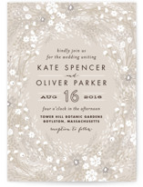 Grand Fleur Wedding Invitations