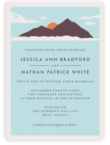 Holiday Island Wedding Invitations