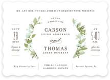 Longwood Estates Wedding Invitations