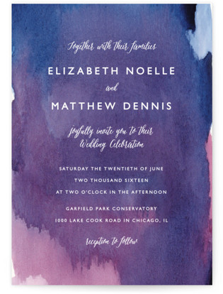 Mulberry Wedding Invitations