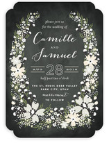 Wildflower Bouquet Wedding Invitations
