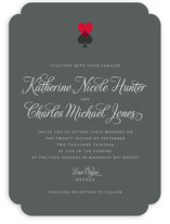 Hearts and Spades Wedding Invitations