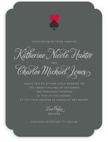 Hearts and Spades Wedding Invitations
