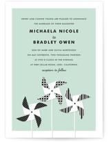 Pinwheels Wedding Invitations