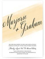 Awash Watercolor Wedding Invitations