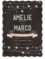 Paris Lights Wedding Invitations