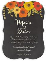 Plentiful Blossoms Wedding Invitations