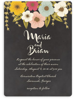 Plentiful Blossoms Wedding Invitations